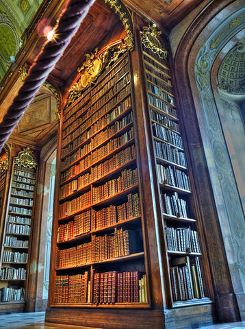 File:The stacks at Austria National Library.jpg