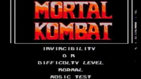 Mortal Kombat V1996 Turbo 30 Peoples (NES Pirate) Shitty Video Console Game