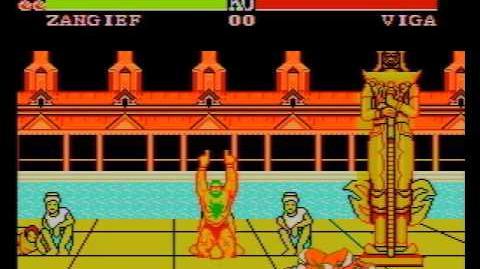 Street Fighter II (YOKO SOFT) (Shitty Dendy Pirate Game) Final Boss Fight