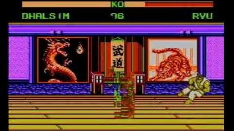 Street Fighter VI 12 Peoples (NES Pirate) Shitty Video Game - Dhalsim (Unlisted Character)