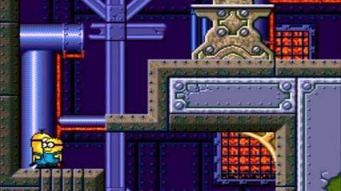 Despicable Me 2 (Sega Genesis) - Gameplay (Russian Pirate Hack)