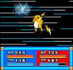 Pokemon Saphire attack