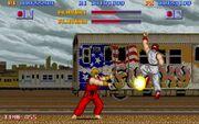 Street-fighter gameplay 1987
