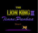 The Lion King III: Timon & Pumbaa