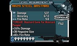 AR29 Steel Bastard