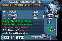 Ggn40 pearl cyclops