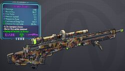 Sniper(Borderlands2) Surgical(5shot) lvl14