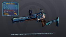 Gunstock Luck Cannon 70 Orange None