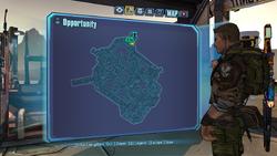 Opportunity Knocks ECHO 1 on map