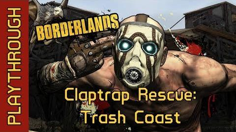 Claptrap Rescue Trash Coast