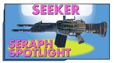 LVL 61 Seeker - Homing Rifle! Seraph Spotlight Borderlands 2 Dragon Keep Seraph Weapon
