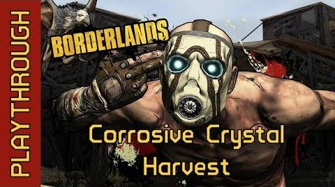 Corrosive Crystal Harvest