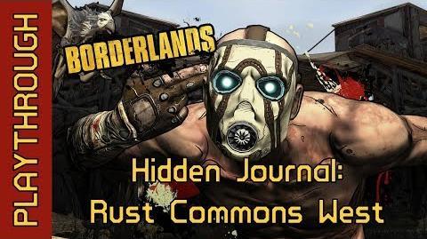 Hidden Journal Rust Commons West