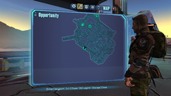 Opportunity Knocks ECHO 3 on map