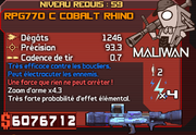 RPG770 C Cobalt Rhino