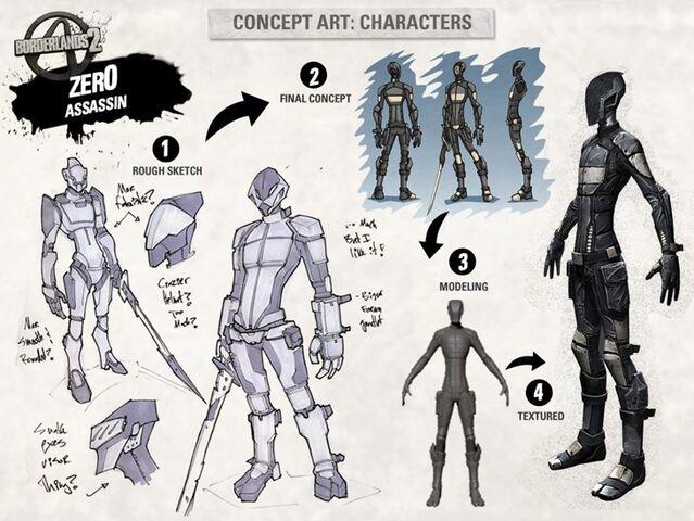 Plik:BL2-Character-Concept-Art Zer0.jpg
