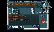 RF C Cobalt Firehawk