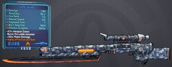 Sniper(Borderlands2) Cartel(3shot) lvl15