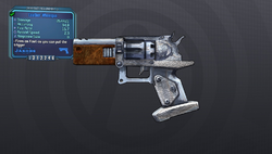 Leather Wheelgun OP3