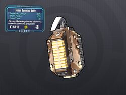 LV 28 Lobbed Bouncing Betty