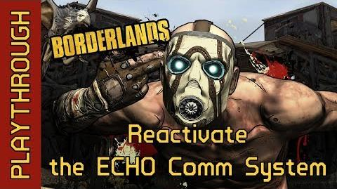 Reactivate the ECHO Comm System
