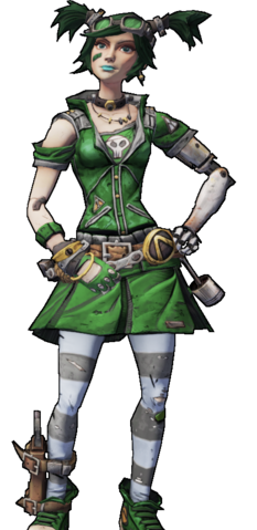 File:BL2-Gaige-Skin-Green Meanie.png