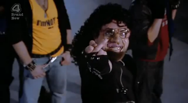 File:Bo' Selecta! Michael Jackson Bad Parody Middle Finger.png
