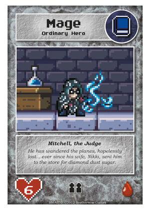 BMA070 Mitchell, the Judge