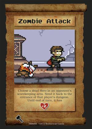 BMA055 Zombie Attack