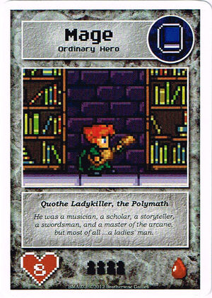 BMA073 Quothe Ladykiller, the Polymath