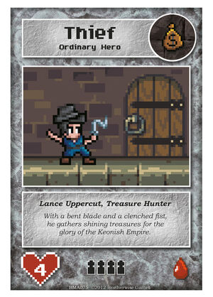 BMA075 Lance Uppercut, Treasure Hunter