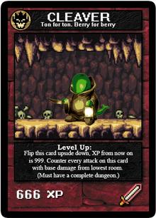 CLEAVER custom card by Monster Mark