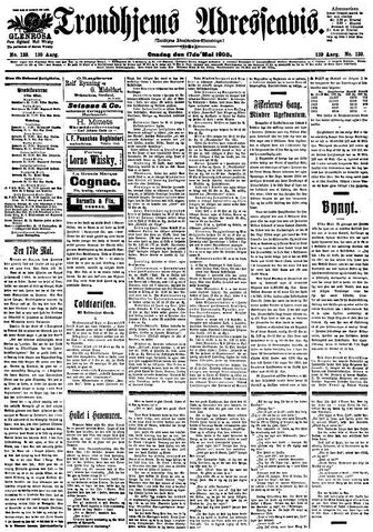 File:Trondhjems Adresseavis 17. mai 1905 - framside.JPG