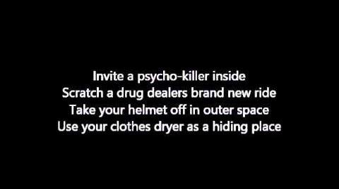 Dumb Ways To Die Lyrics