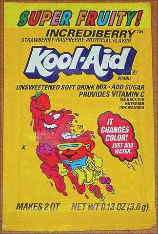 File:Kool-Aid Incrediberry flavor (Super Fruity!) packet early 90's.jpg