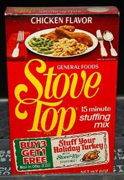 Stove Top box 1978