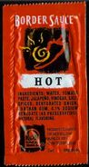 Taco Bell Border Sauce Hot 1997