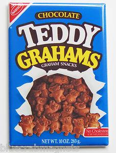Teddy Grahams (chocolate) box 1988