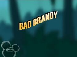 Bad Brandy Episode Titlecard