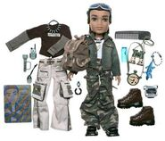 Bratz Wildlife Safari Boyz Dylan Doll