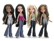 Bratz Passion 4 Fashion 1st Edition Dolls