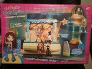 Lil' Bratz Rock Starz Concert Stage with Rinnie Back