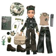 Bratz Wildlife Safari Boyz Cade Doll