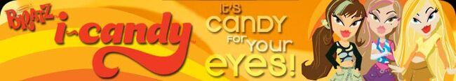 Bratz I.Candy Banner