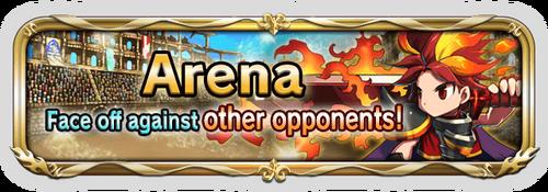 Standard arena banner