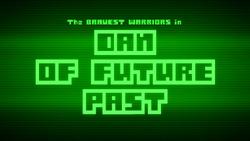 S3E01 Dan of Future Past Title Card