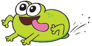Breadwinners Jelly the Frog Nickelodeon Character