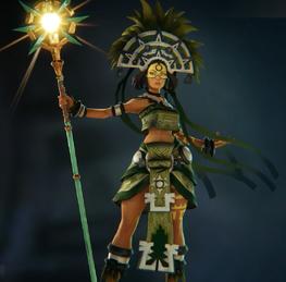 Alona green skin