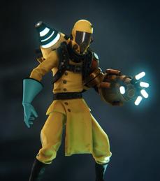 Victor yellow skin