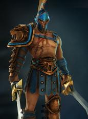 Spartacus blue skin